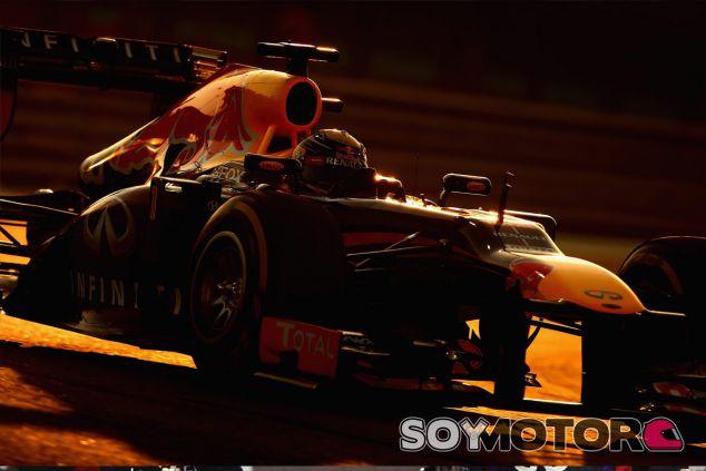 Sebastian Vettel en el circuito de Abu Dabi - LaF1