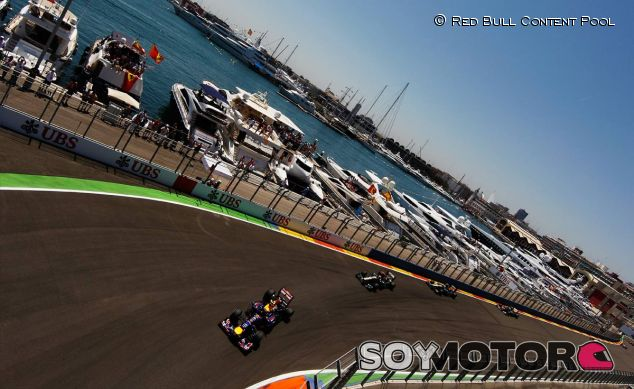Imagen del Gran Premio de Europa de 2012