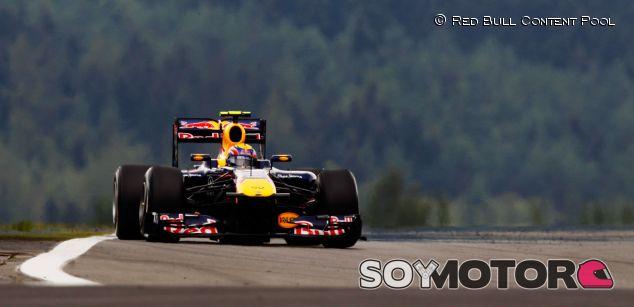 Mark Webber y su RB7 en Nürburgring