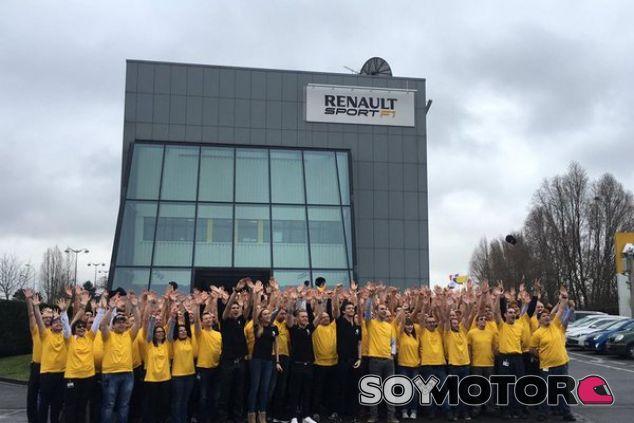 Renault aumentará ostensiblemente su plantilla - LaF1