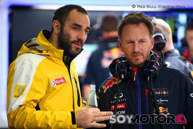 Cyril Abiteboul y Christian Horner - LaF1