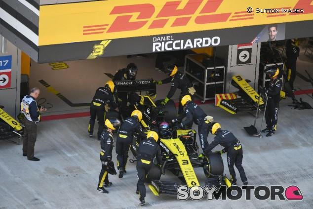 Renault en el GP de Rusia F1 2019 - SoyMotor