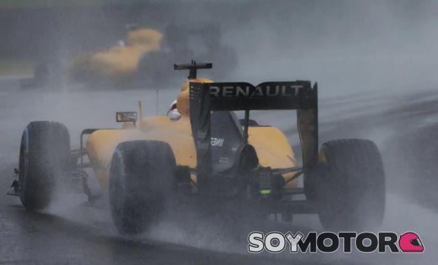 Kevin Magnussen y Jolyon Palmer en Brasil - LaF1