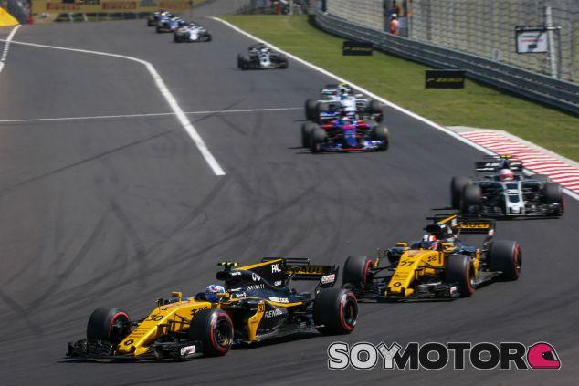 Renault en el GP de Hungría F1 2017: Domingo  - SoyMotor.com