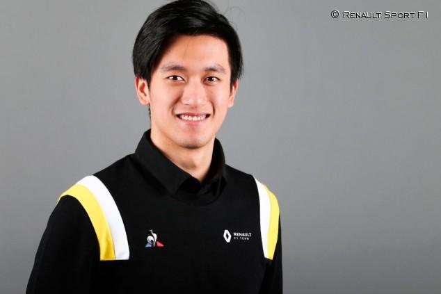 OFICIAL: Guanyu Zhou, piloto de pruebas 2020 de Renault - SoyMotor.com