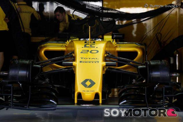Detalle del Renault de Kevin Magnussen, 2016 - SoyMotor