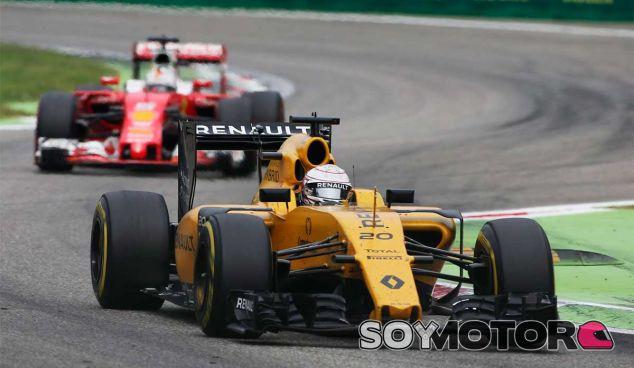 Kevin Magnussen en Monza - LaF1