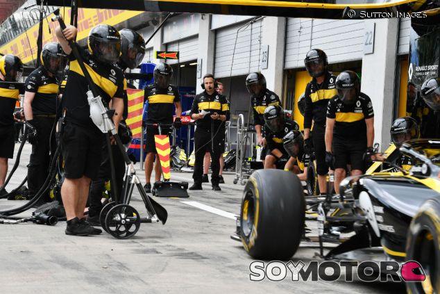 Escena de Renault en el GP de Austria - SoyMotor