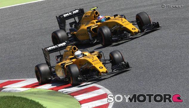 Kevin Magnussen y Jolyon Palmer - LaF1