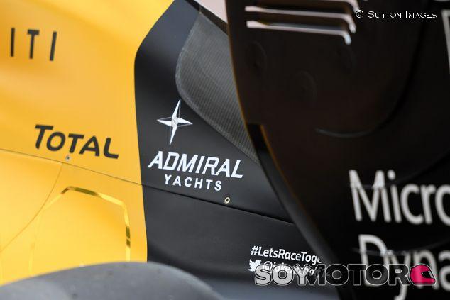 Detalle del Renault RS16 en el GP de Mónaco 2016 - SoyMotor