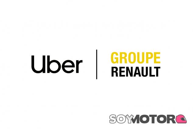 Colaboración entre Uber y el Grupo Renault - SoyMotor.com
