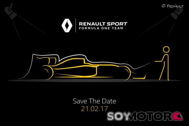 Renault ha anunciado la fecha con esta imagen en redes sociales - SoyMotor