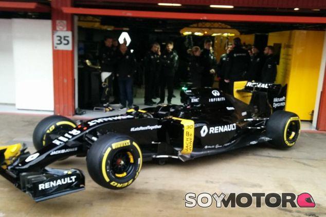 Renault presenta la versión definitiva del RS16 - LaF1
