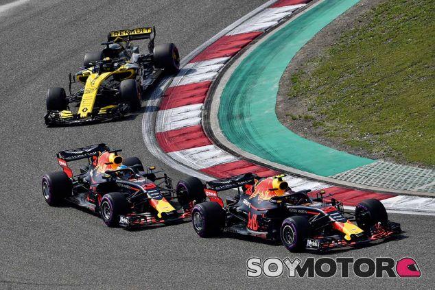 Nico Hülkenberg persigue a los Red Bull en China - SoyMotor