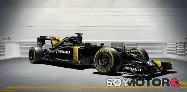 Renault muestra los colores del nuevo RS-16 - LaF1