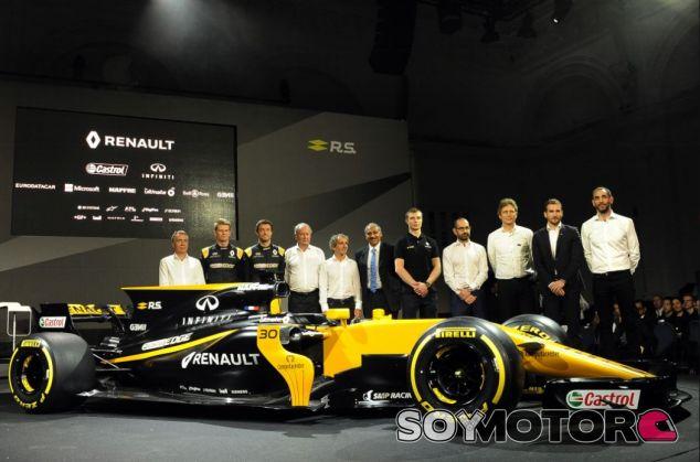 Imagen de la presentación de Renault - SoyMotor