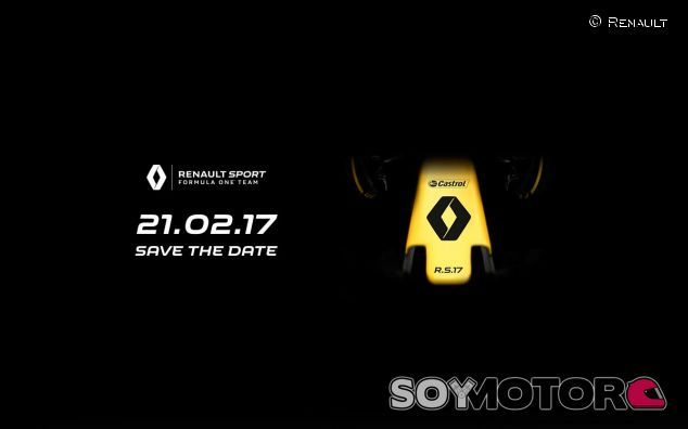 La imagen que Renault ha compartido en redes sociales - SoyMotor