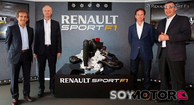 Presentación del motor V6 Turbo de Renault