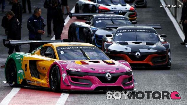 Renault RS01 de la Renault Sport Trophy - LaF1