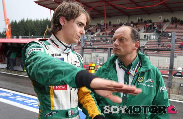 Esteban Gutiérrez y Frederic Vasseur - LaF1