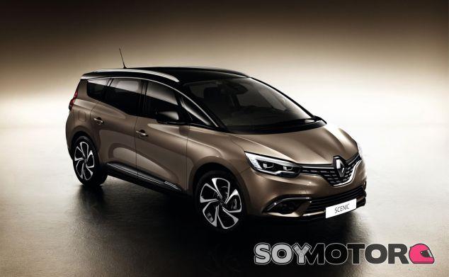 Con un diseño elegante, el Renault Grand Scénic sigue siendo un vehículo muy versátil - SoyMotor