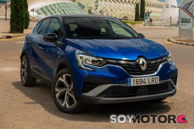 Renault Captur 2020: probamos la nueva versión híbrida - SoyMotor.com