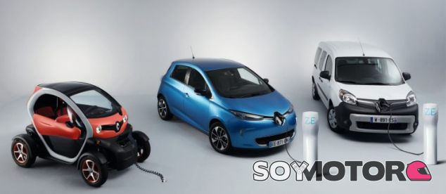 Actual gama eléctrica de Renault - SoyMotor