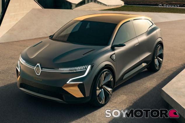 Renault Mégane eVision: la nueva era eléctrica de la marca del rombo - SoyMotor.com