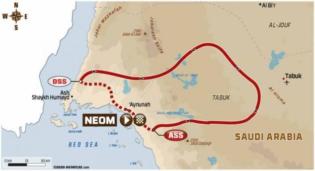 Dakar 2021: así es el recorrido de la Etapa 9