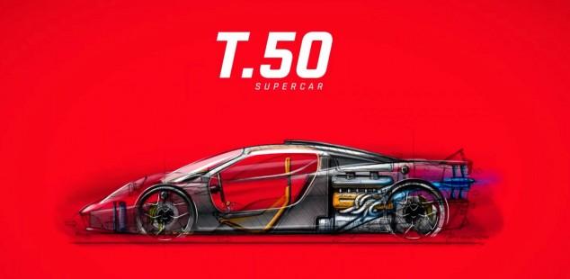 Gordon Murray, busca las 24 Horas de Le Mans con su hypercar T.50 - SoyMotor.com