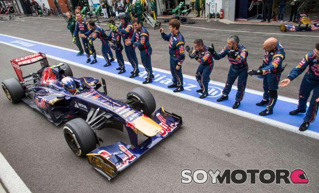 Daniel Ricciardo en el pasado Gran Premio de Bélgica