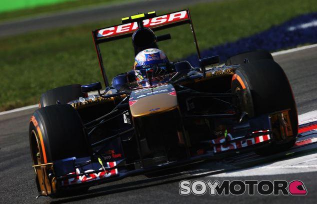 Daniel Ricciardo durante el Gran Premio de Italia - LaF1
