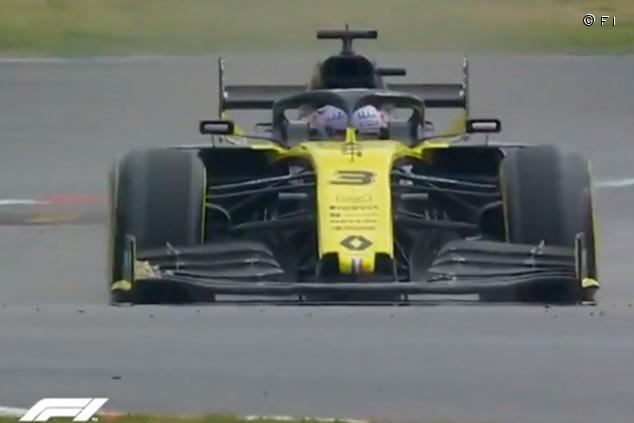 Fallo de DRS en Renault: Ricciardo pierde el alerón trasero en plena recta - SoyMotor.com