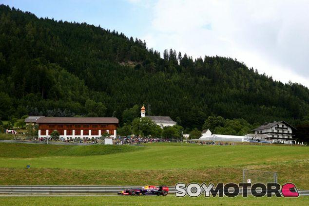 Daniel Ricciardo durante el GP de Austria del año pasado - LaF1