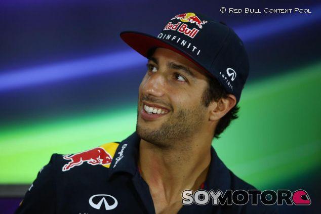 Daniel Ricciardo en la rueda de prensa de la FIA de Baréin - LaF1