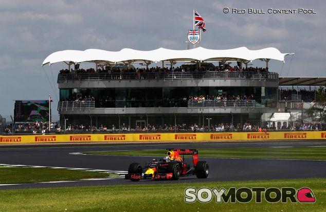 Daniel Ricciardo en el GP de Gran Bretaña - LaF1