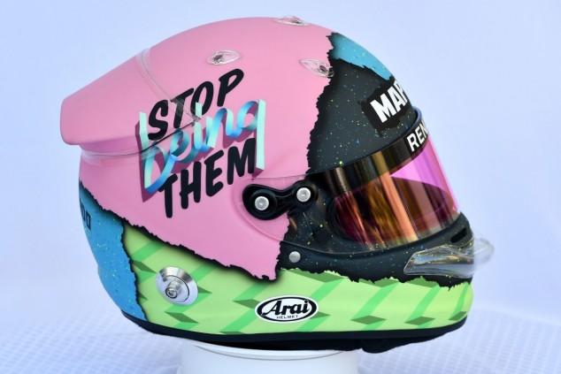 Daniel Ricciardo presenta su casco para la temporada 2019 - SoyMotor.com