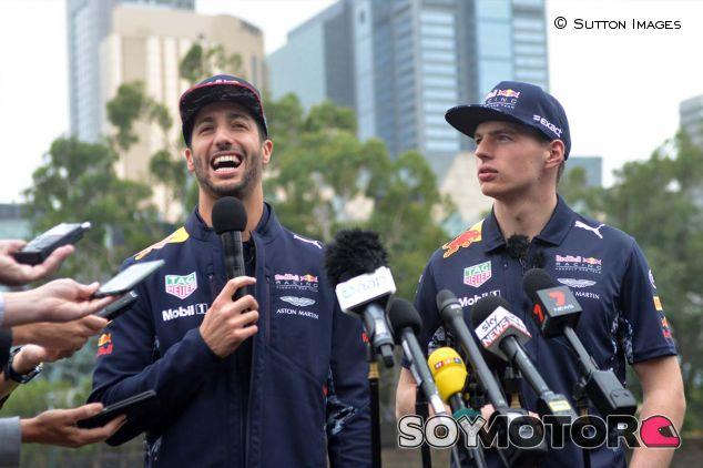 Daniel Ricciardo y Max Verstappen en Australia - SoyMotor.com