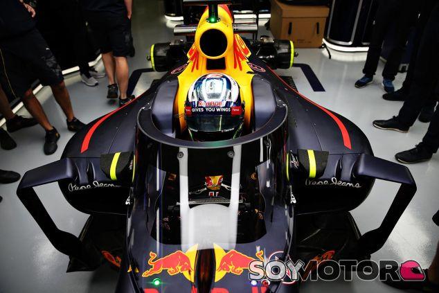 La cúpula que Red Bull probará en los Libres 1 de Rusia - LaF1