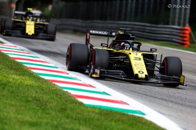 Renault en el GP de Italia F1 2019: Domingo - SoyMotor.com