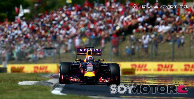 Daniel Ricciardo en Hungría - Laf1