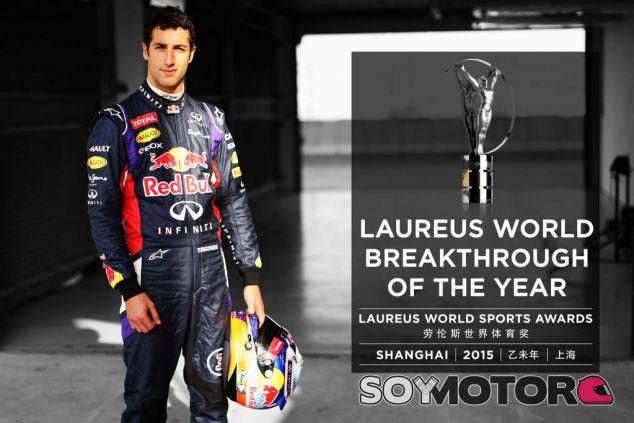Daniel Ricciardo, Laureus al deportista revelación del 2014 - LaF1
