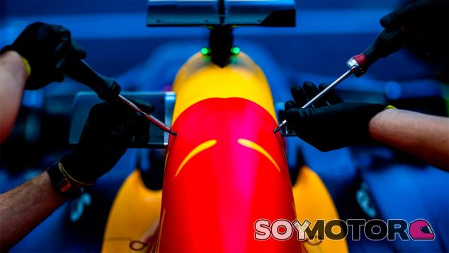 Detalle del Red Bull RB12 - LaF1