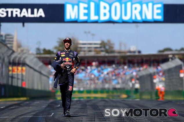 Daniel Ricciardo en Melbourne - LaF1