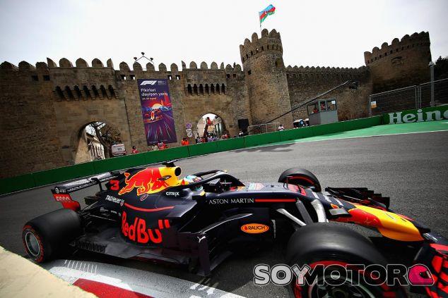 Daniel Ricciardo en Bakú, Azerbaiyán - SoyMotor