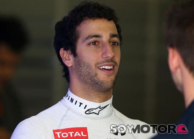 Daniel Ricciardo en Shanghái - LaF1