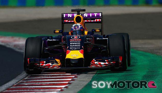 Daniel Ricciardo en el Gran Premio de Hungría - LaF1