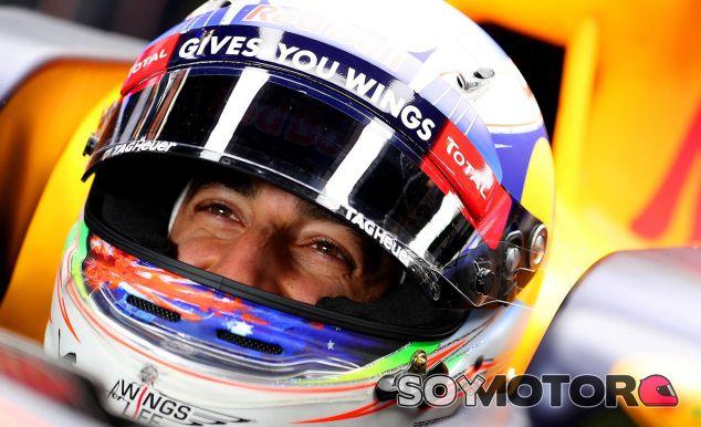 Ricciardo es partidario de implementar el halo - LaF1