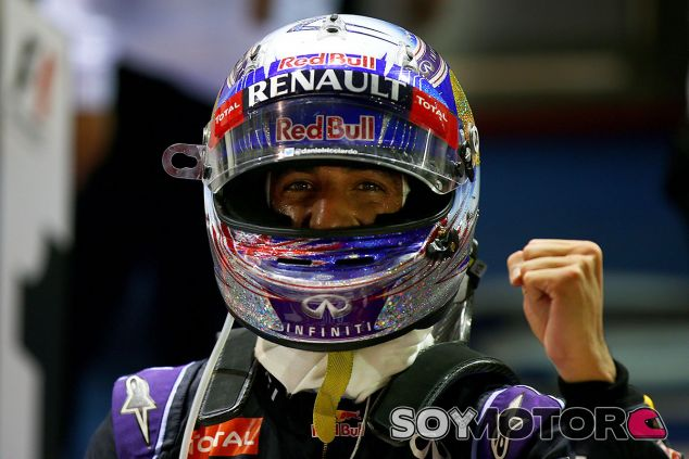Daniel Ricciardo en Singapur 2015 - LaF1
