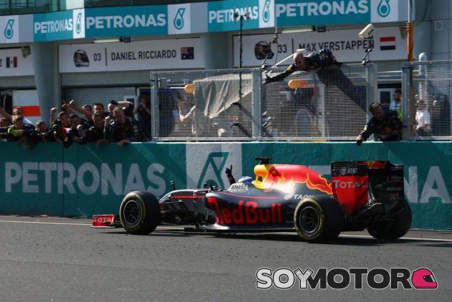 Ricciardo ganó el GP de Malasia - SoyMotor